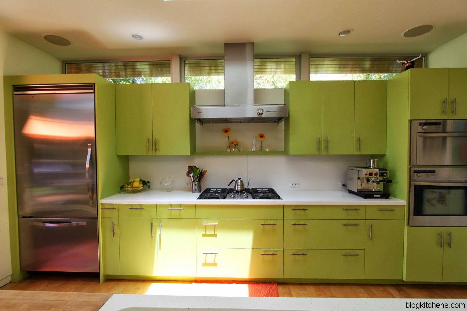 Green Kitchen Cabinets Modern Kitchen Design  Kitchen Design Best Modern Kitchen Cabinets Design Ideas Decorating Inspiration