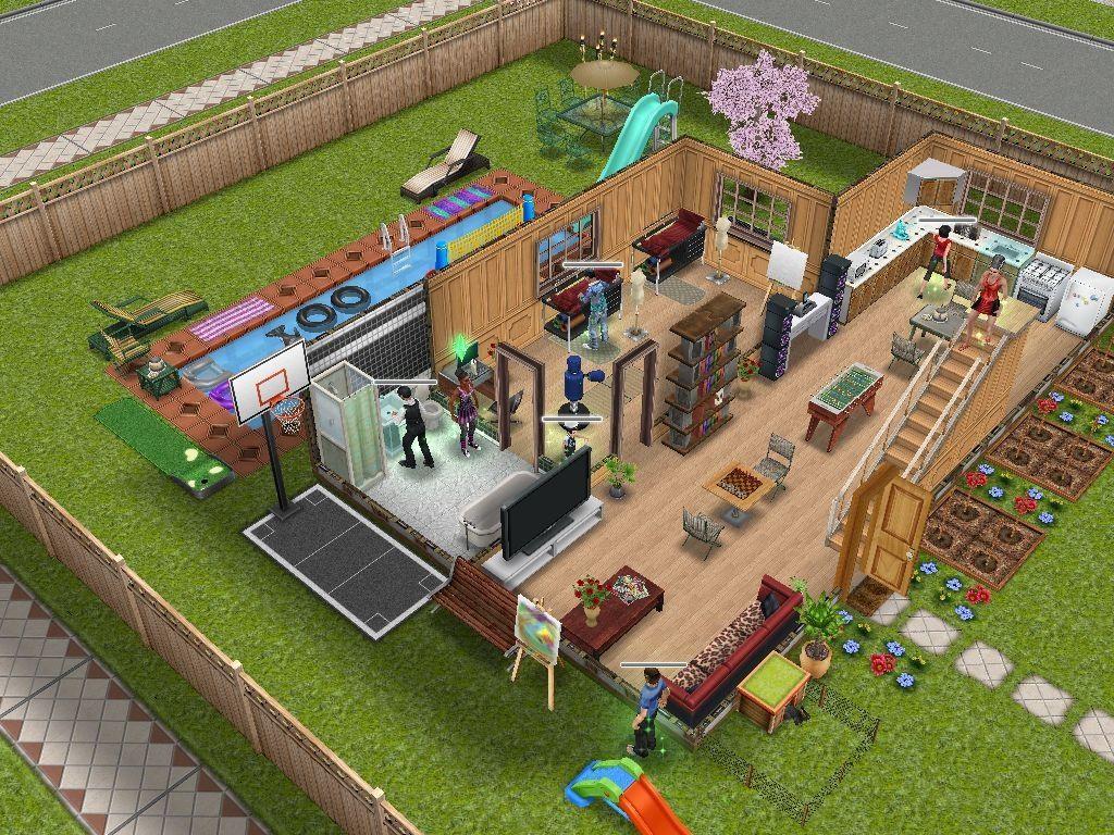 House design like sims - Sims Freeplay