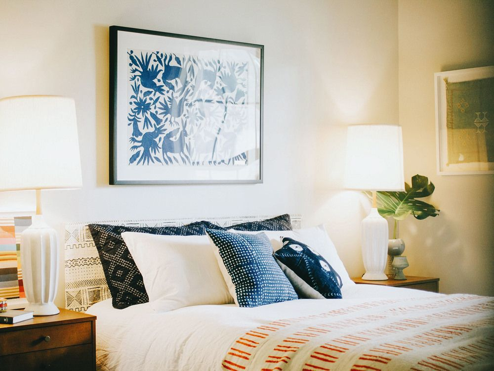 spice up your bedroom with art  textiles  home decor