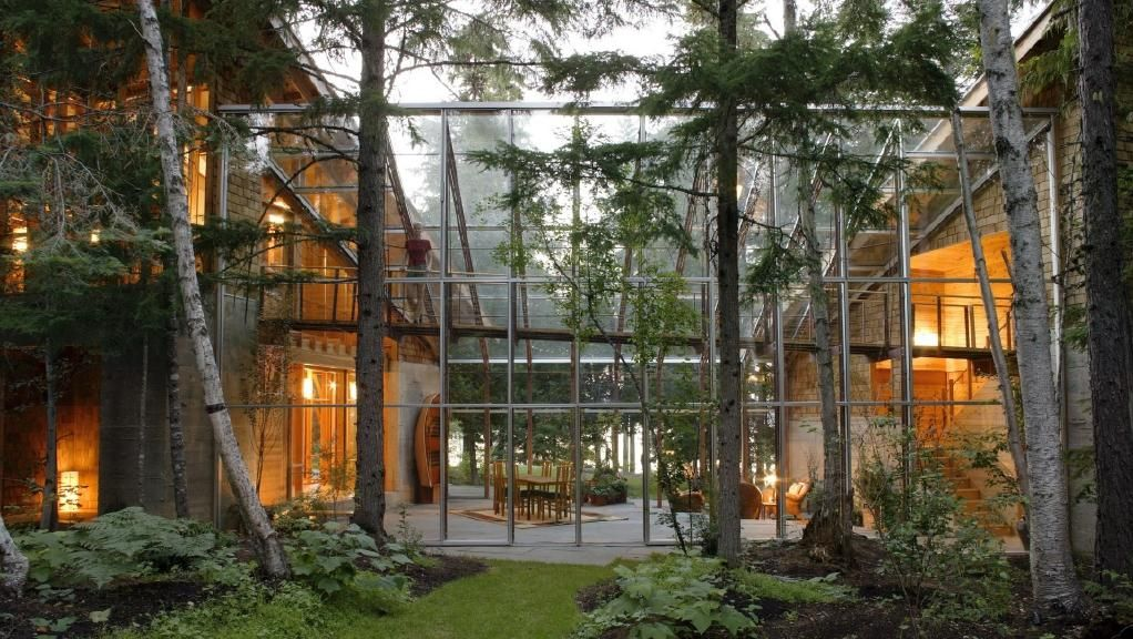 Image Result For Bill Gates House In Washington Interior