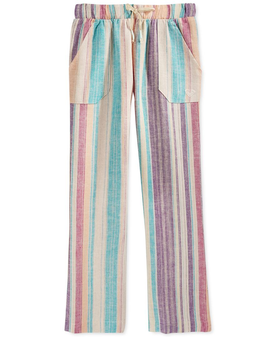Roxy Girls' Beach Stripes Pants
