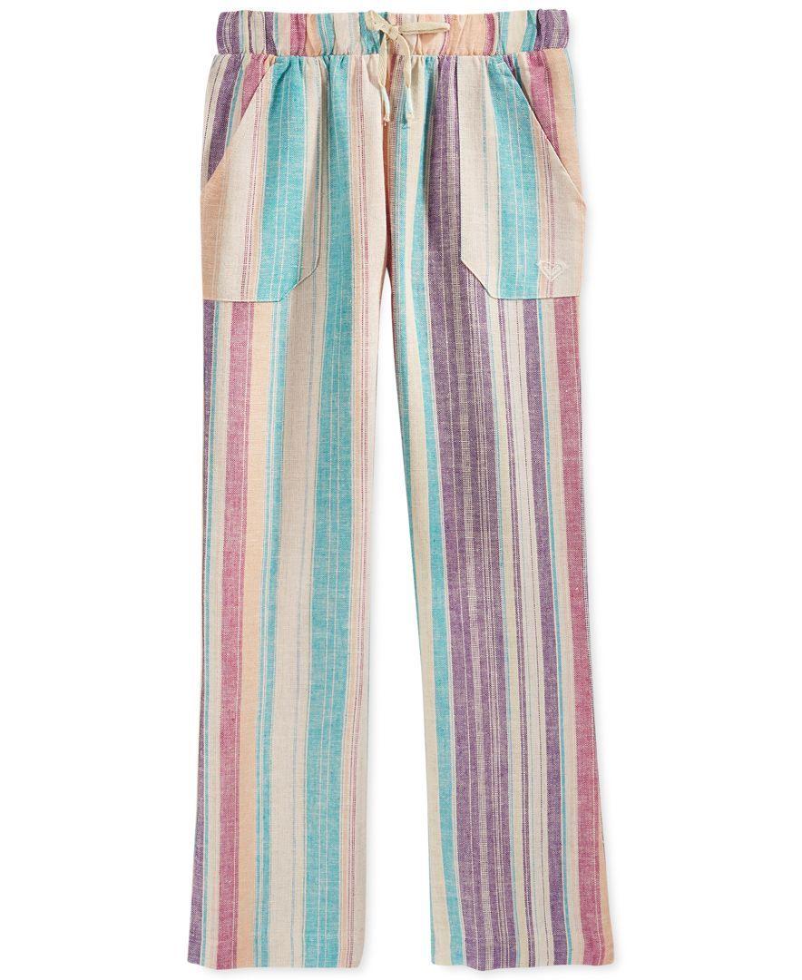 Roxy Girls' Beach Stripes Pants