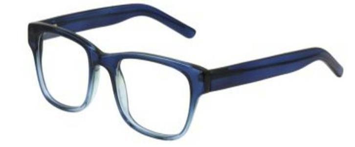 a3bba2bcb Gafas graduadas para hombre AAH2422 C2 (Colección Alain Afflelou) con  montura de pasta (material inyectado) y en color azul degradado.