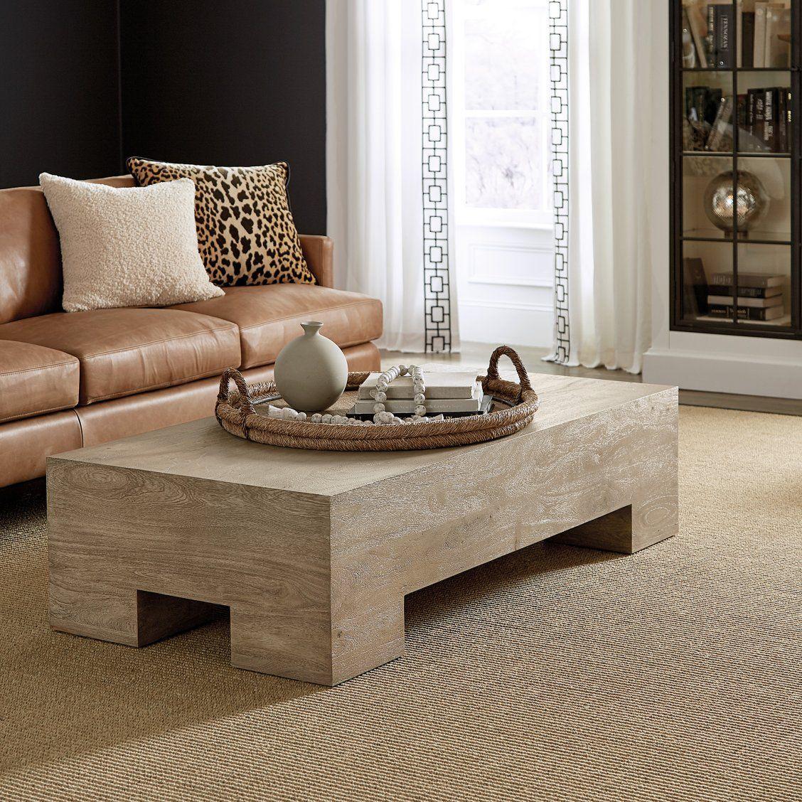 Esme Large Wood Coffee Table Coffee Table Coffee Table Wood Oversized Coffee Table [ 1128 x 1128 Pixel ]