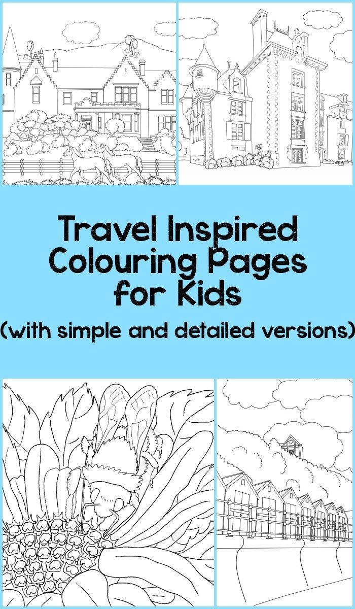 Beautiful Scenery Colouring Pages | Pinterest | Adult coloring ...