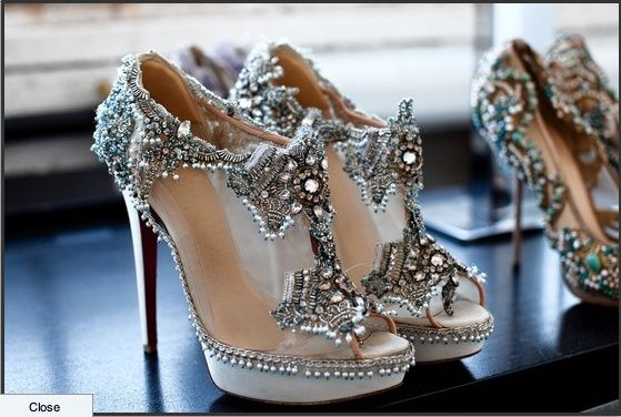 Christian Louboutin These Would Be The Best Wedding Dress Shoe