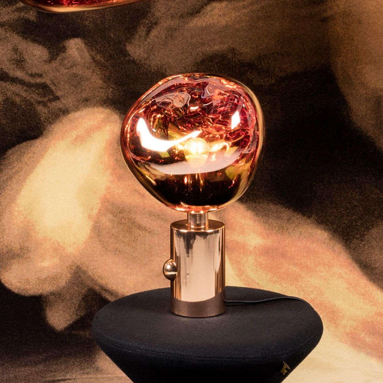 Designer Fensterbank Lampe Melt Von Tom Dixon Kupfer In 2020 Tischleuchte Tom Dixon Lampe Und Tom Dixon
