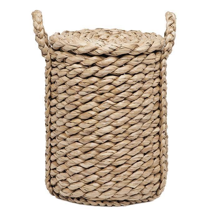 Royan Round Woven Seagrass Handled Basket | Pigeon ...
