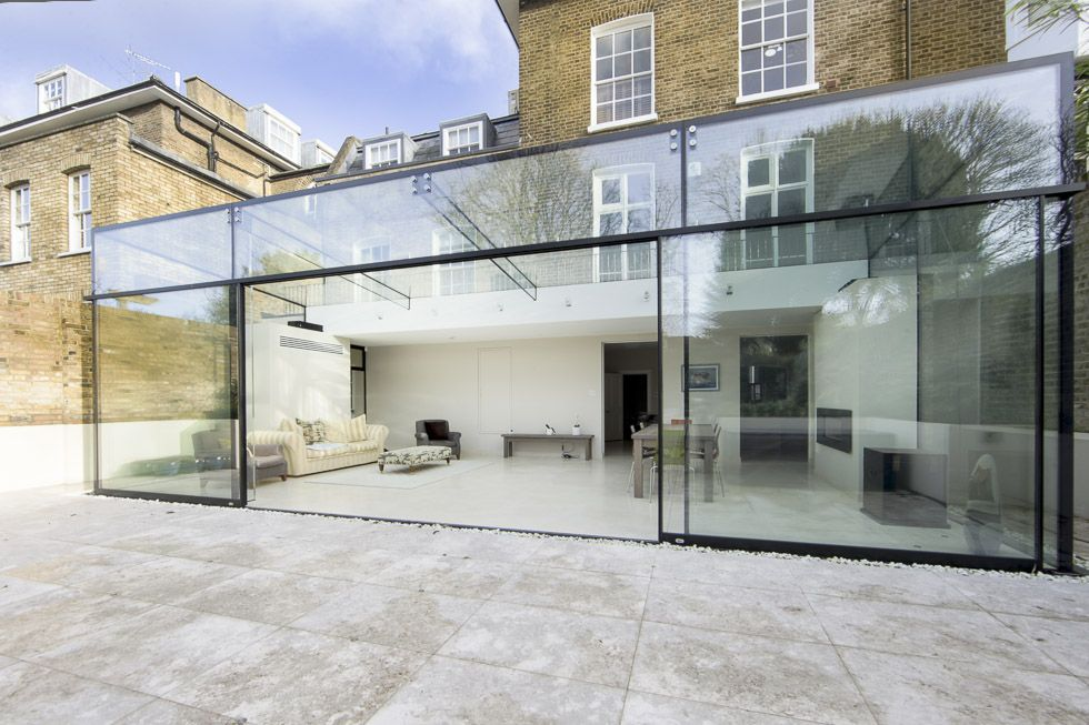 Culmax structural glass door systems staircases for Fixed price house build