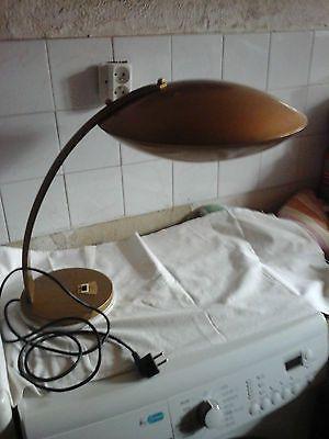 Ancienne Lampe Bureau Vintage Chrome Design Deco Loft Annee 60