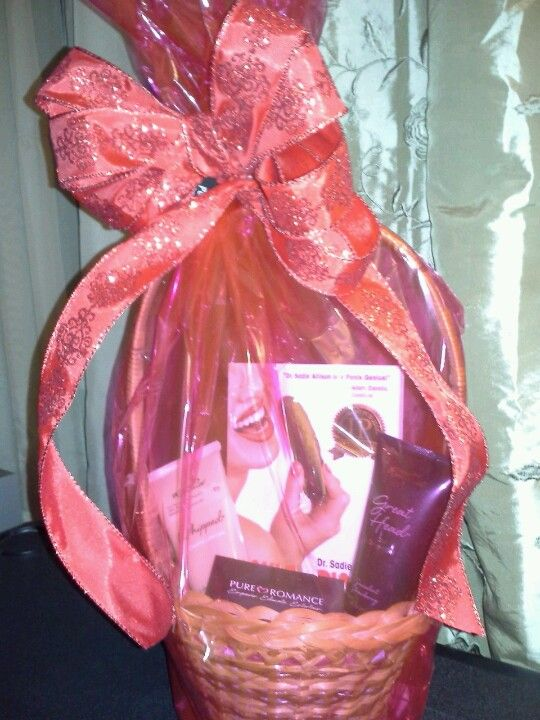 Valentine gift basket pure romance whipped lubricant in vanilla valentine gift basket pure romance whipped lubricant in vanilla cupcake flavor great head succulent strawberry flavor and tickle his pickle book 49 negle Choice Image