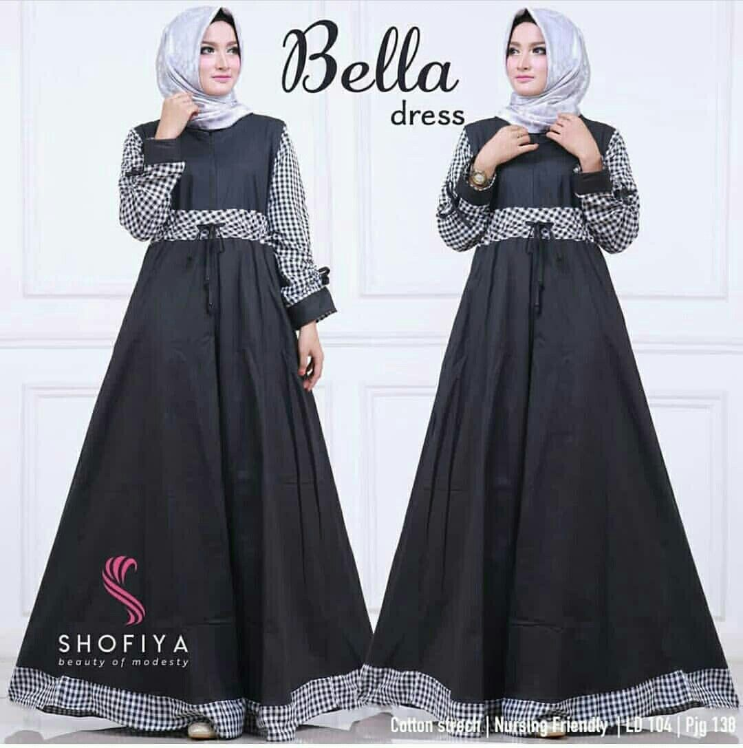Bella dress hitam Balotelli mix katun 75rb | MCfashion | Pinterest