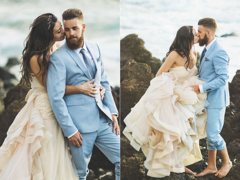 Kate Evan Whimsical Maui Wedding Destination At Gannons Wailea