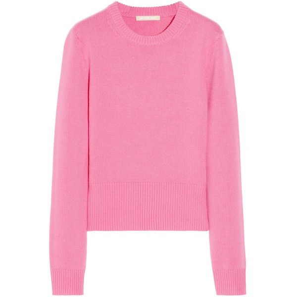 Michael Kors Cashmere sweater (€230) ❤ liked on Polyvore featuring tops,  sweaters. Tapas De Color RosaLily ...