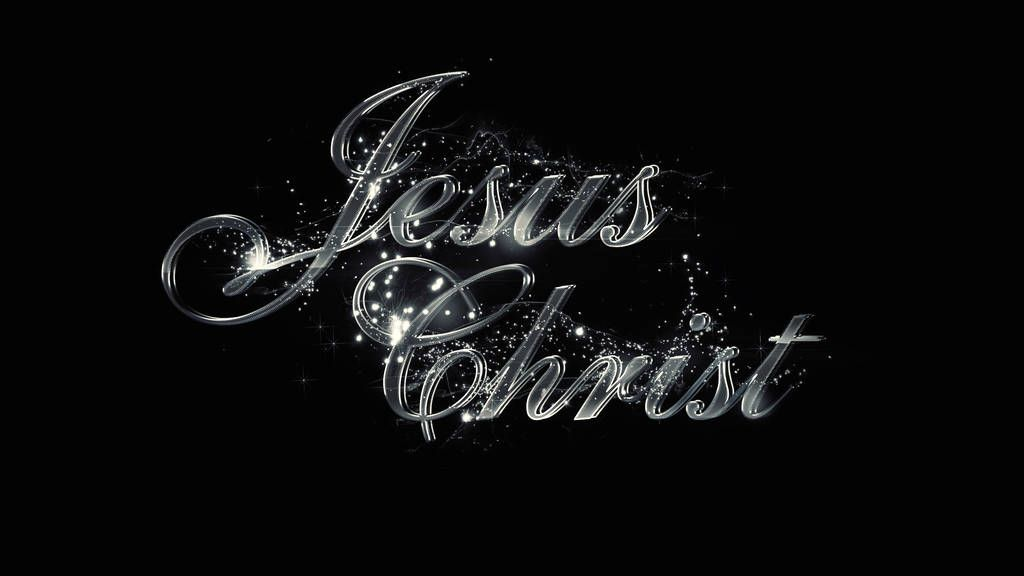Jesus Christ Metal Wallpaper By Https Www Deviantart Com Mostpato On Deviantart Typographic Artwork Jesus Wallpaper Christian Artwork