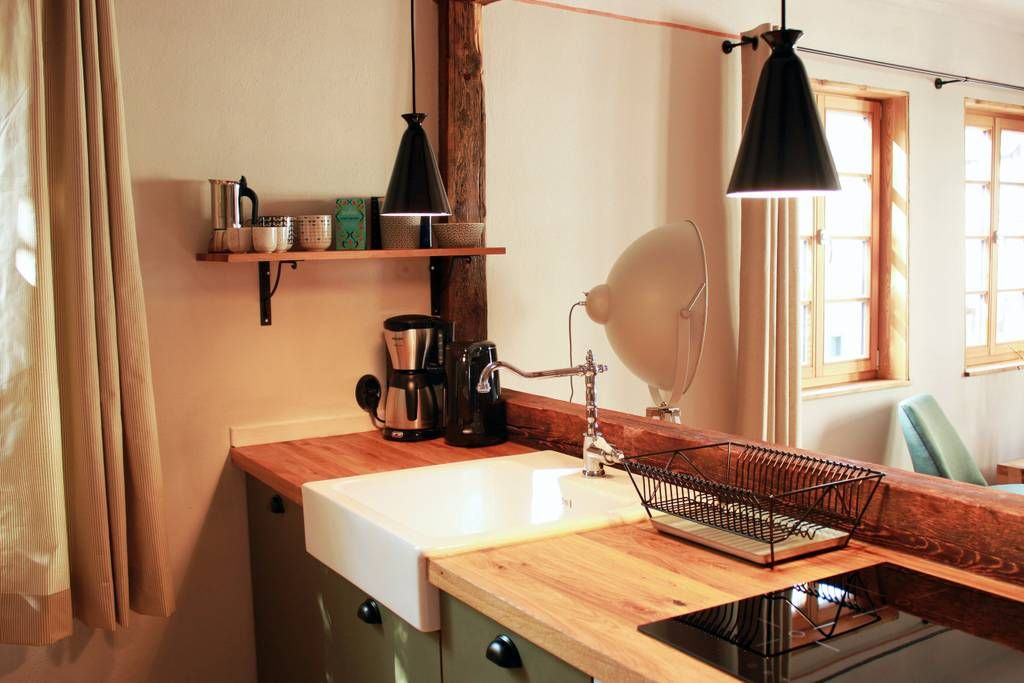 Blick In Die Offene Wohnkuche Wohnkuche Haus Mieten Offene Wohnkuche