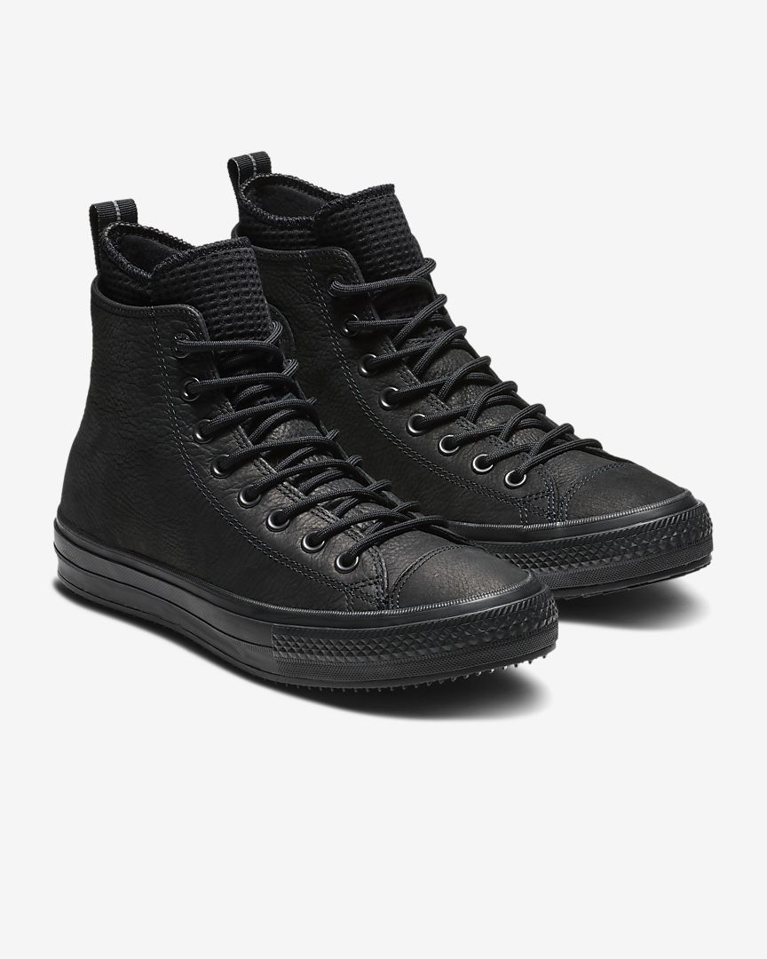 111af551a55 Converse Chuck Taylor All Star Waterproof Leather High Top Boot Unisex  Leather Boot
