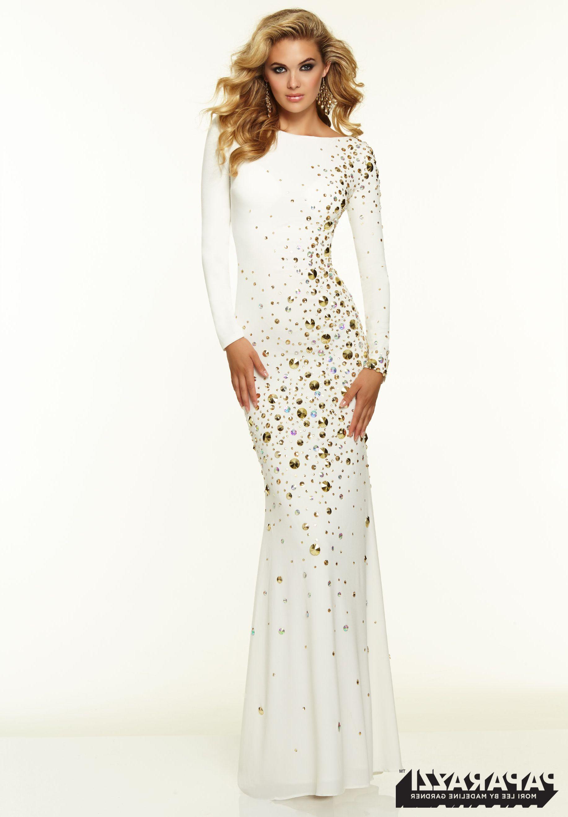 Long Sleeve White Dress Prom | LongSleeve Dress | Pinterest | Dress ...