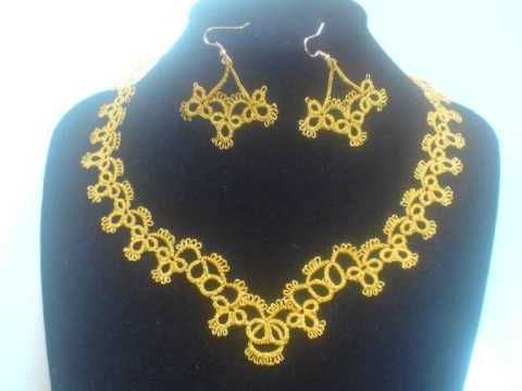 frivolitè, tatting, chiacchierino.wmv - YouTube