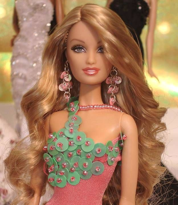 miss doll chile  barbie world really long hair long