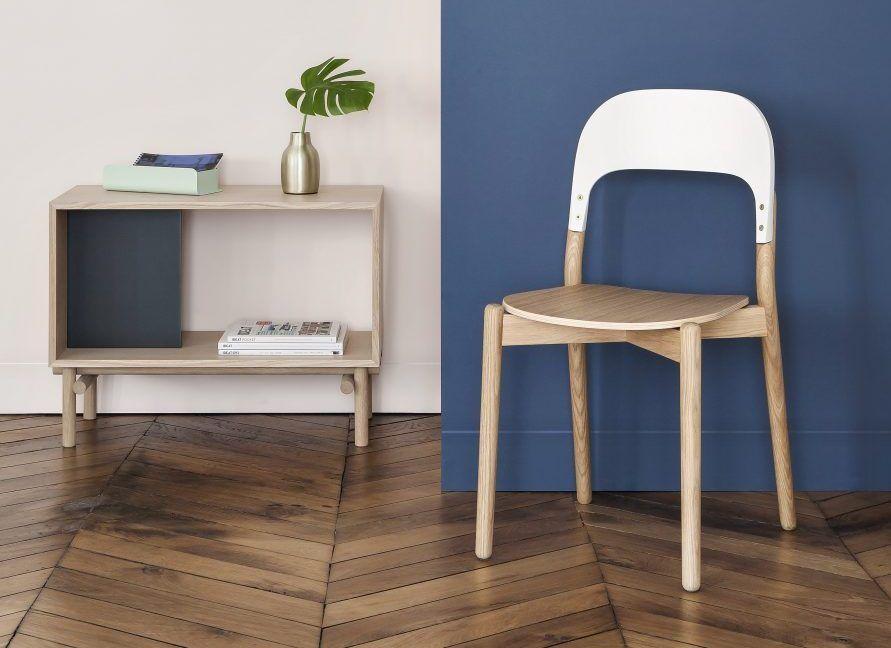 Chaise Paula Harto en bleu Mood board salle à manger Pinterest