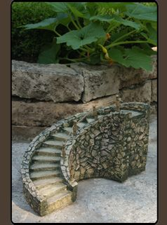 Some garden fairies need a grand entrance staircase when having parties and you can buy it at this link.