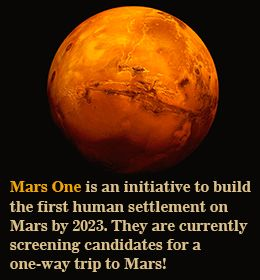 Interesting Facts About Planet Mars   On, Volunteers and An
