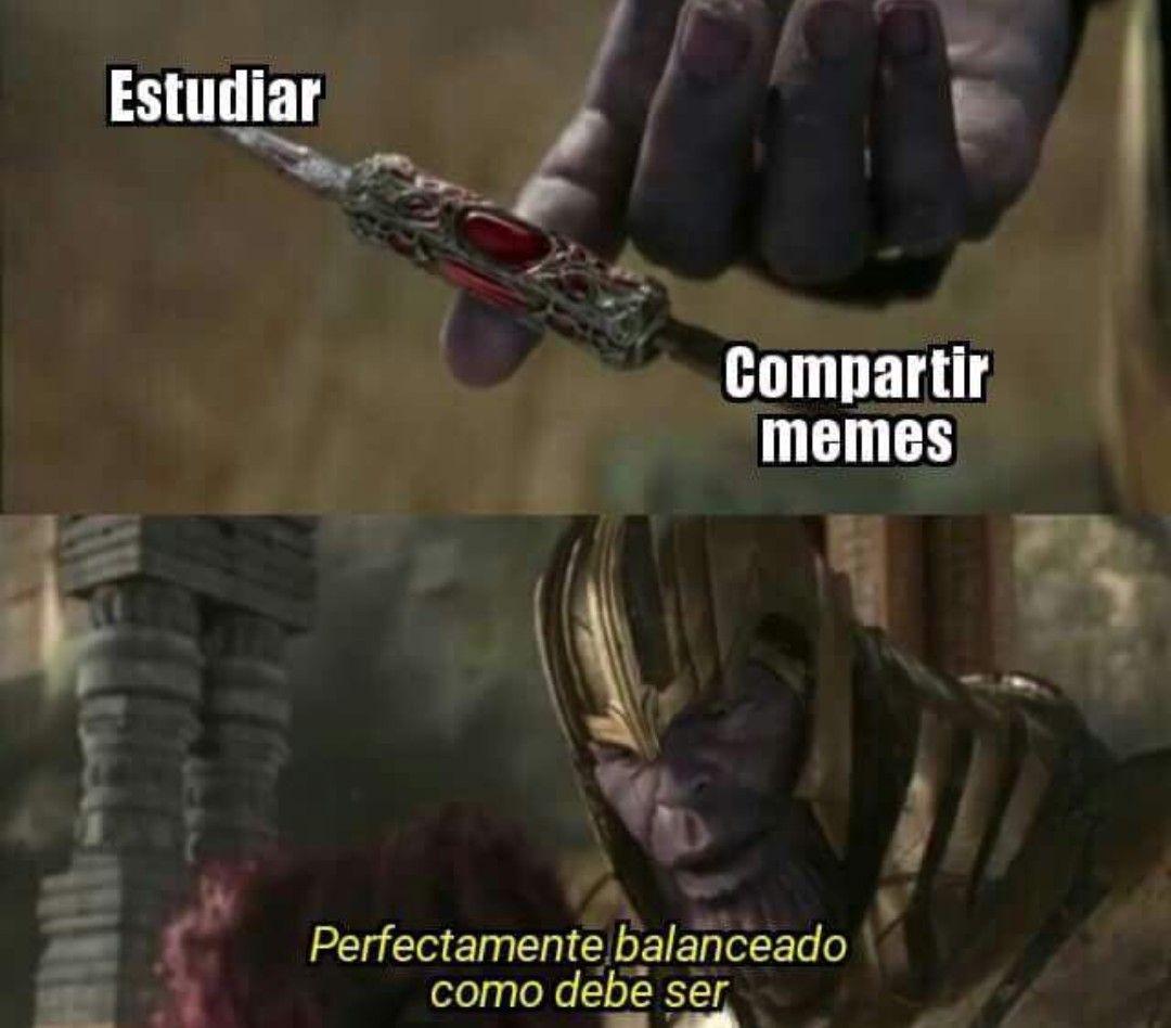 Resultado de imagen para perfectamente equilibrado meme