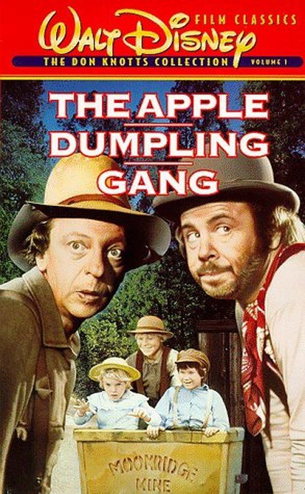 The Apple Dumpling Gang (1975) Kid movies, Kids' movies