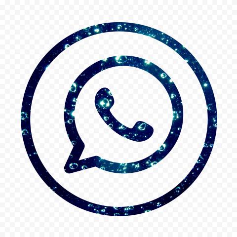 Hd Beautiful Blue Outline Whatsapp Wa Circle Logo Icon Png Circle Logos Logo Icons Icon