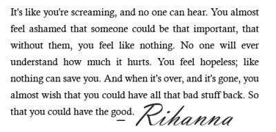 The Quote In The Beginning Of The We Found Love Video By Rihanna