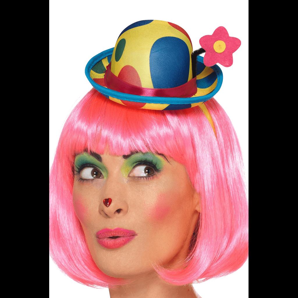 Mini Clown Hat On Headband Clown Hat Clown Fancy Dress Headband Shop