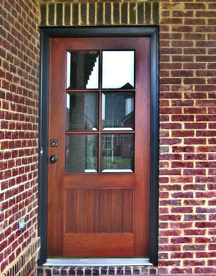 Wooden Front Doors With Glass And Pertaining To Exterior Wood Entry