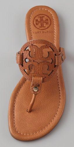 5a2d6c4428b3c7 Tory Burch Miller Sandal COLOR  VINTAGE VACHETTA