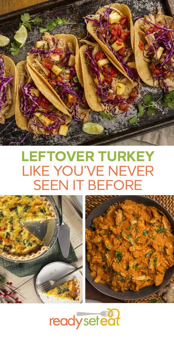 Leftover turkey recipes like you've never seen before. Take turkey (or even chicken) up a notch with these international favorite recipes; from Jerk season tacos, to Tikka Masala, and even a breakfast egg bake - we've got you covered!
