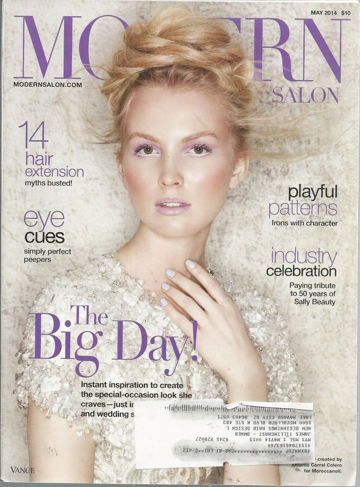 Modern Salon Magazine Big Day May 2014 Hair Extensions Sally Beauty