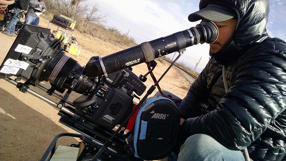 """D.P. Danny Gonzalez captures the desert for """"LTD"""" with the Arricam LT. #shortfilm, #Downsyndrome"""