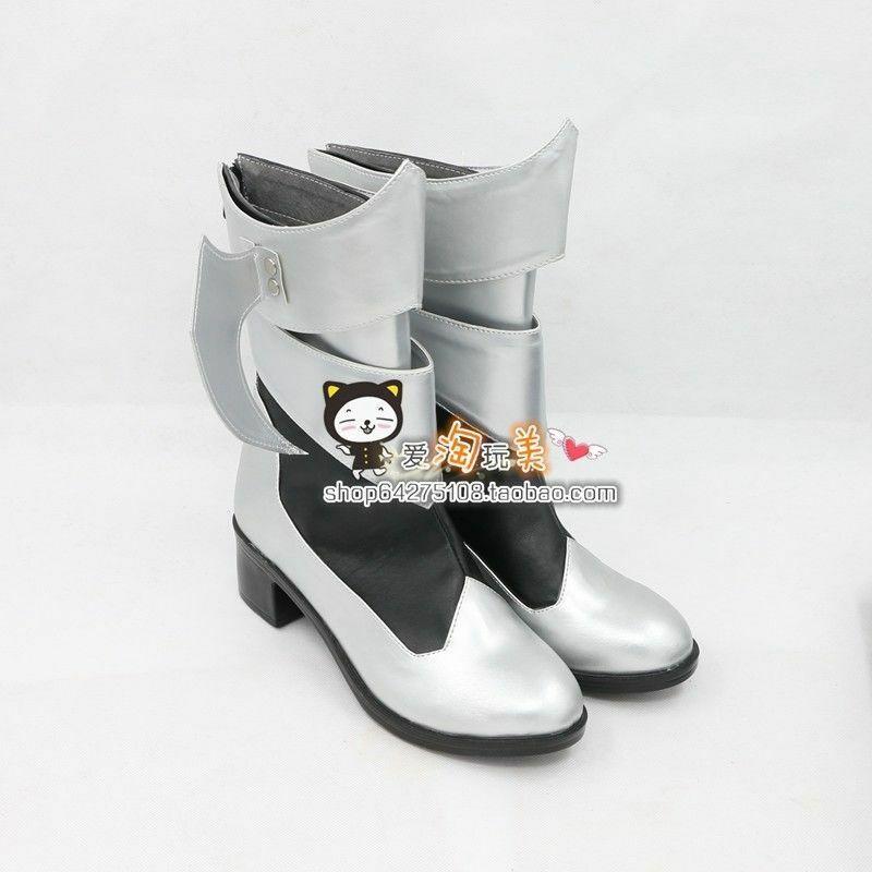 Kingdom Hearts Aqua cosplay shoes Boots Custom Made NN.91