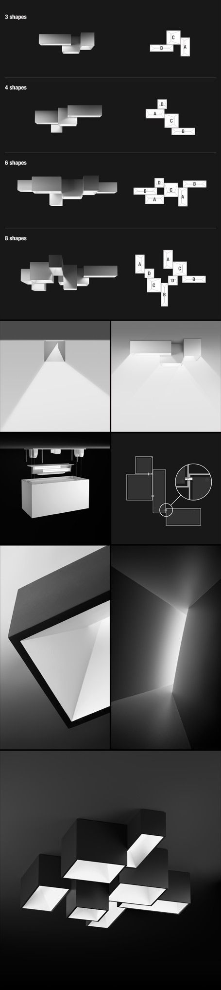 Link - architecture on the ceiling & Vibia Link... Architecture on the Ceiling.   Ceiling Lights ... azcodes.com