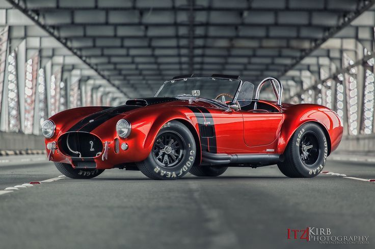 Visit The MACHINE Shop Café... ❤ Best of Ford @ MACHINE ❤ (Red Ford AC Cobra Roadster)