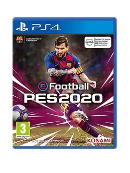 Playstation Games 2020.Playstation 4 Efootball Pes 2020 Ps4 In One Colour