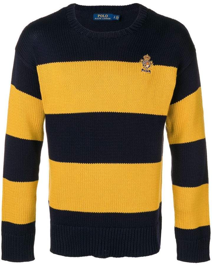 467102ef Polo Ralph Lauren horizontal stripes jumper | Products | Polo Ralph ...