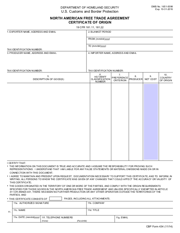 certificate origin fillable form pdf template templates example printable pdfsimpli forms certificates smithchavezlaw