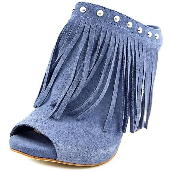 Womens Shoes GUESS Ara Blue Suede
