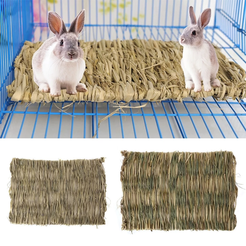 Grass Chew Mat For Rabbits Pets, Hamster accessories