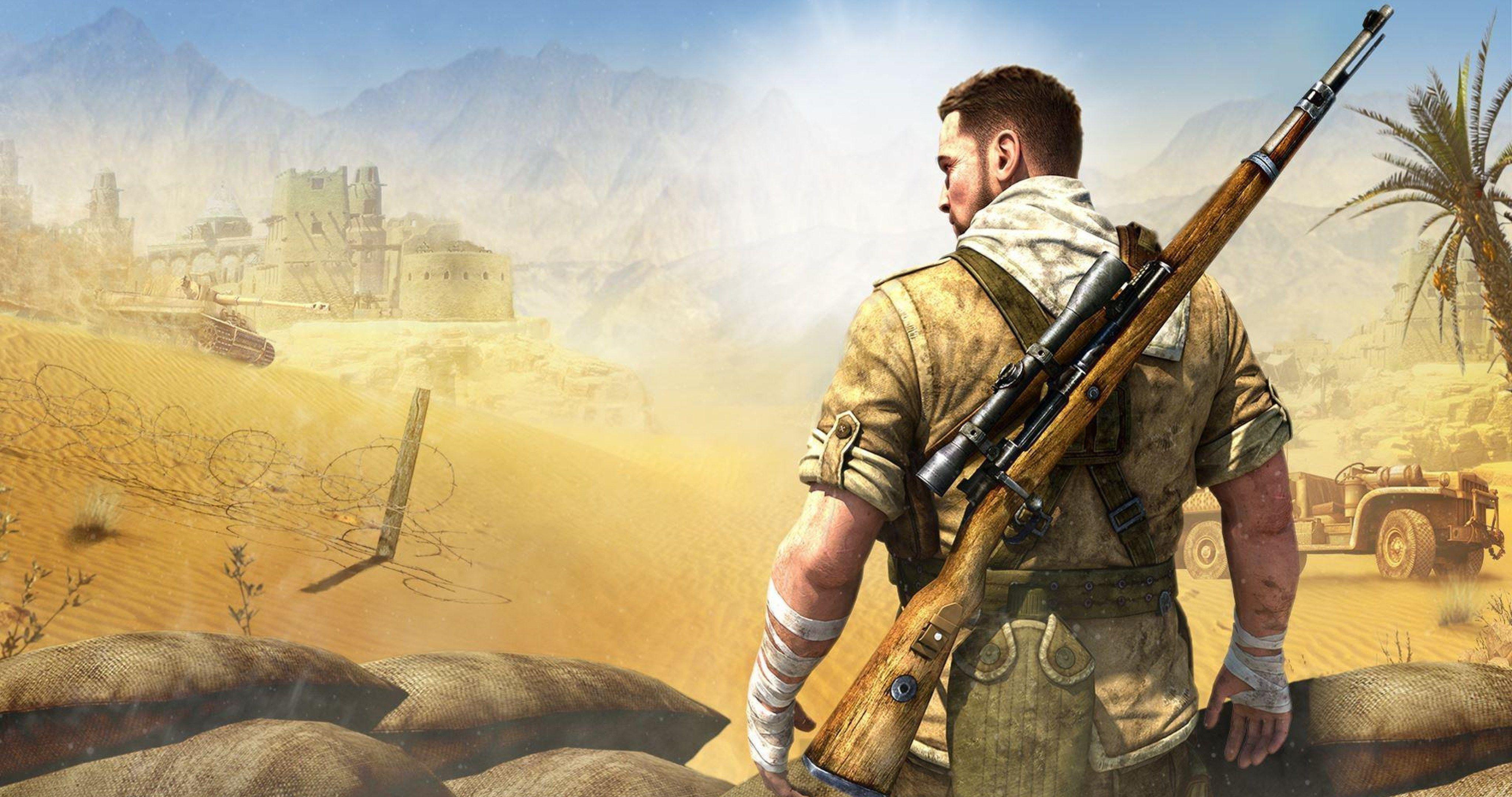 Sniper Elite 3 Video Game 4k Ultra Hd Wallpaper