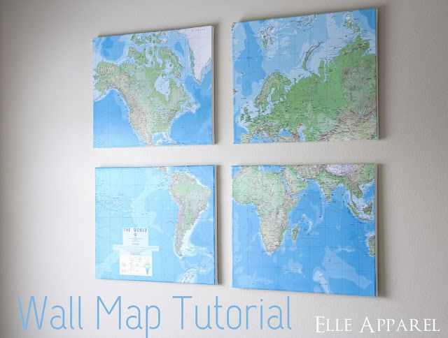 Elle Apparel: Wall Map Tutorial