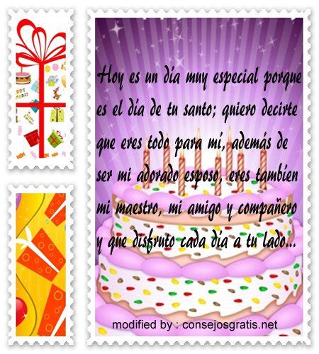 Originales Mensajes Para Tu Esposo De Feliz Cumpleanos Con Imagenes
