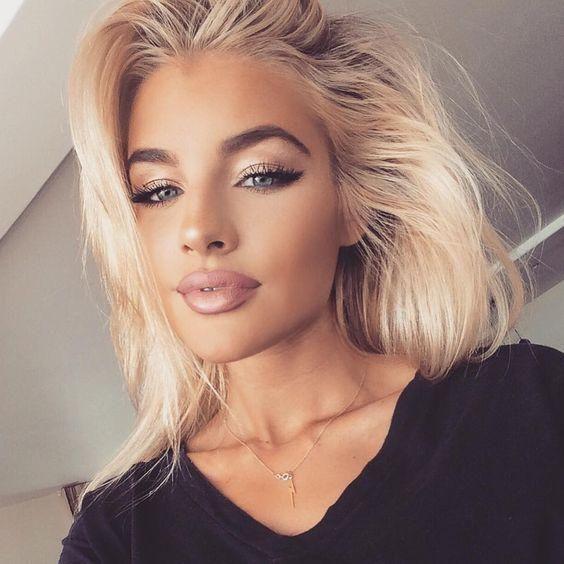 13 Idealnych Pomysłów Na Makijaż Dla Blondynki Najciekawsze Trendy