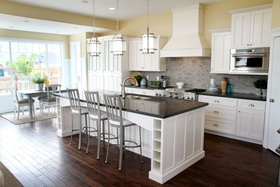 Kitchen Cabinets and Counters | House Building | Pinterest ...